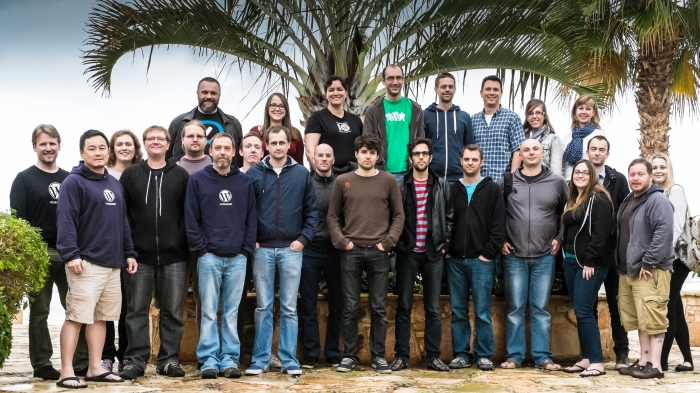 Automattic Store Team in Cyprus, January 2014