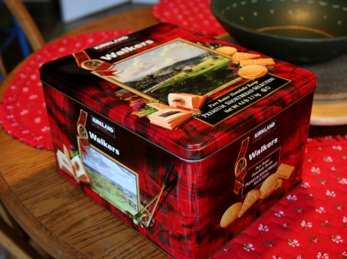 walkers shortbread tin