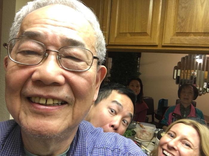 Hong Family, February 2018