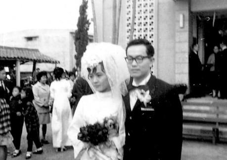 1971-01-02 Mom & Dad's Wedding 11
