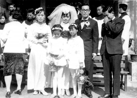 1971-01-02 Mom & Dad's Wedding 16