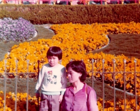 1/2/80: First day in the US ... Disneyland!