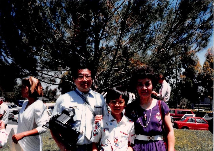 June 1986: Graduation from Eastshore Elementary School